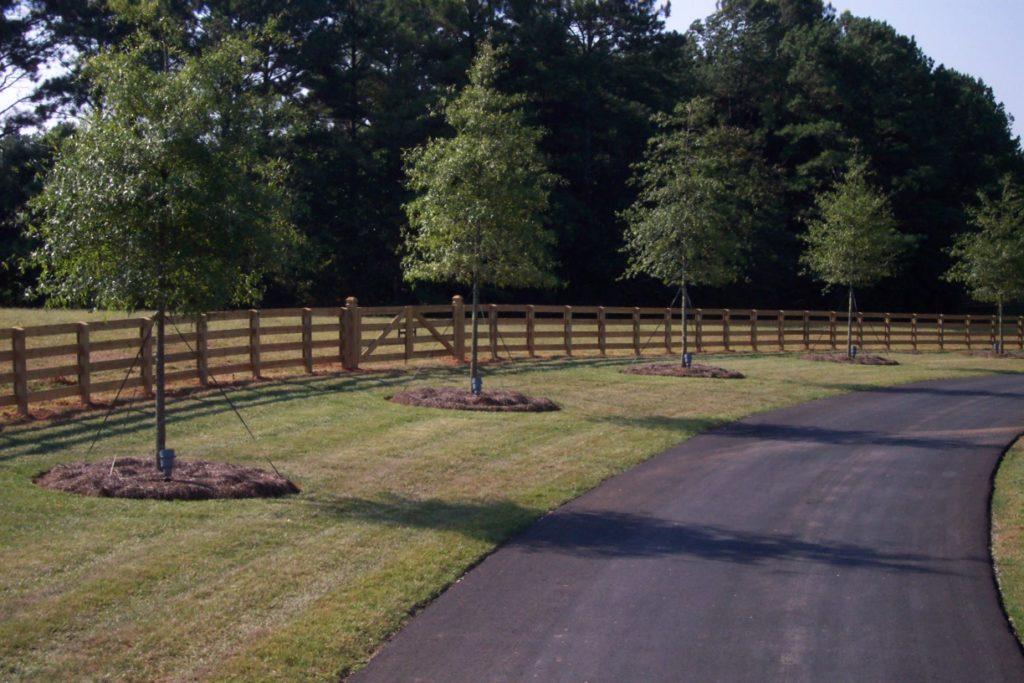 Equestrian Fencing