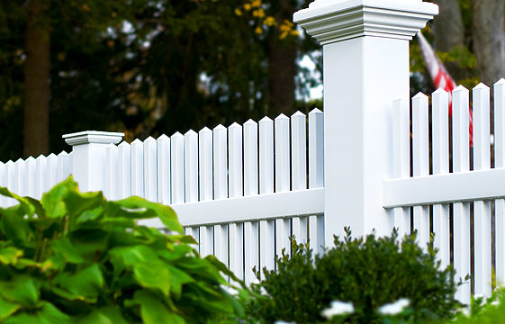 Vinyl Fencing, Various Colors & Styles