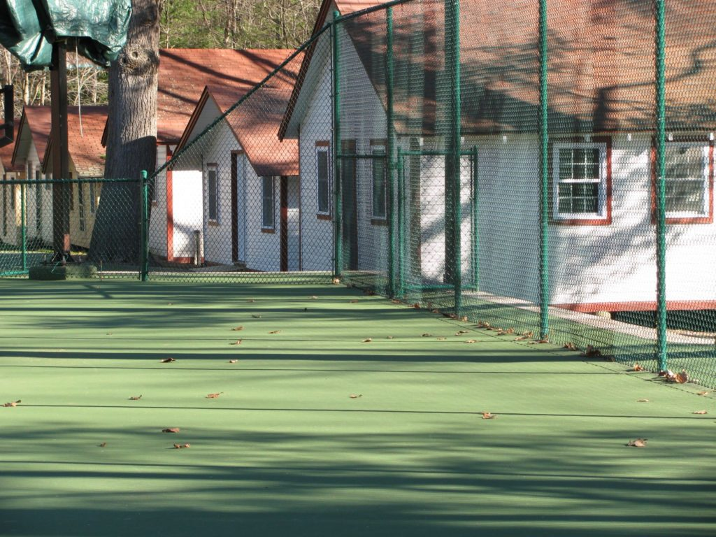 Sports and field court fencing